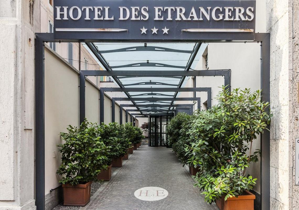Hotel Des Etrangers, Milano. Geco Consulenze Alberghiere