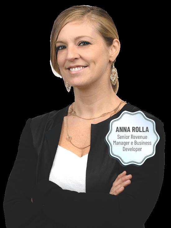 Anna rolla, Senior Revenue Manager e Business Developer di Geco Consulenze Alberghiere